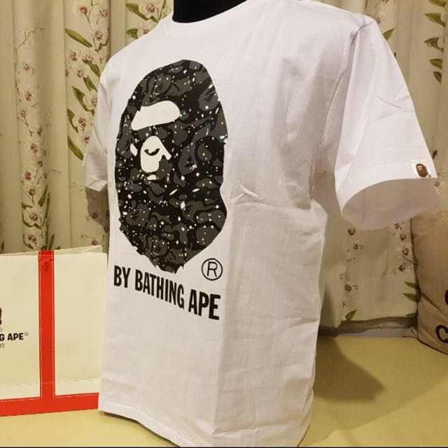 BAPE Large Head Space Tee