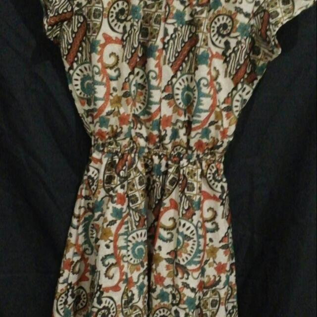 Batik Dress All Size