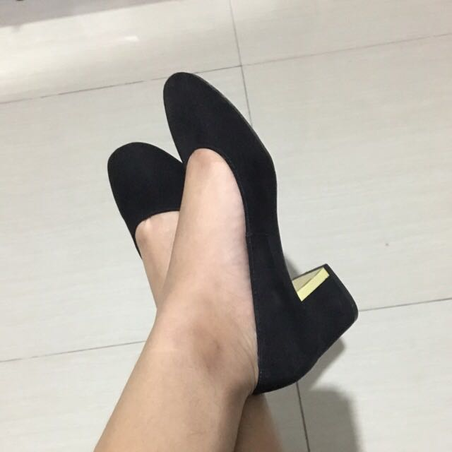 Black Half Heels Payless Shoes