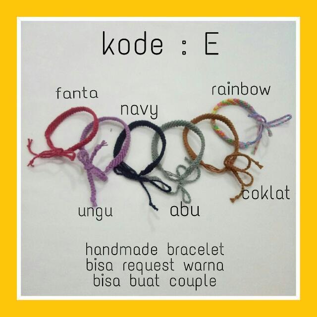 Bracelet Kode : E