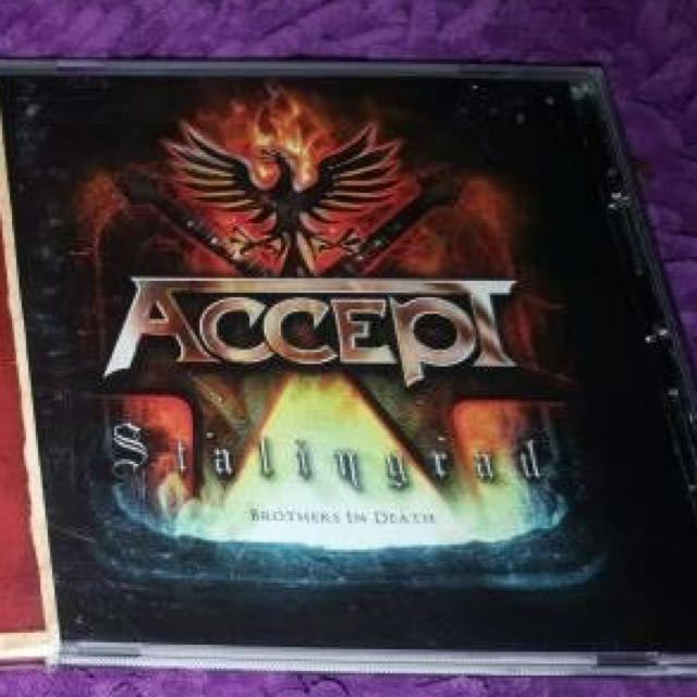 CD Impor Original ACCEPT - Stalingrad