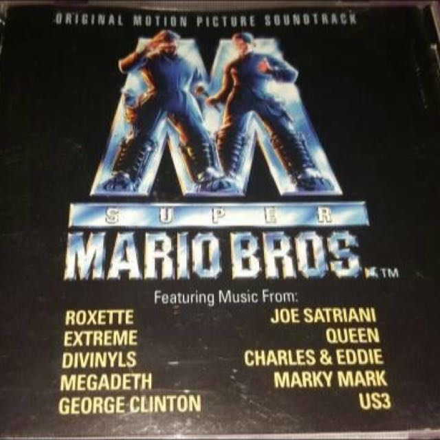 CD Impor Original VA - OST Super Mario Bross