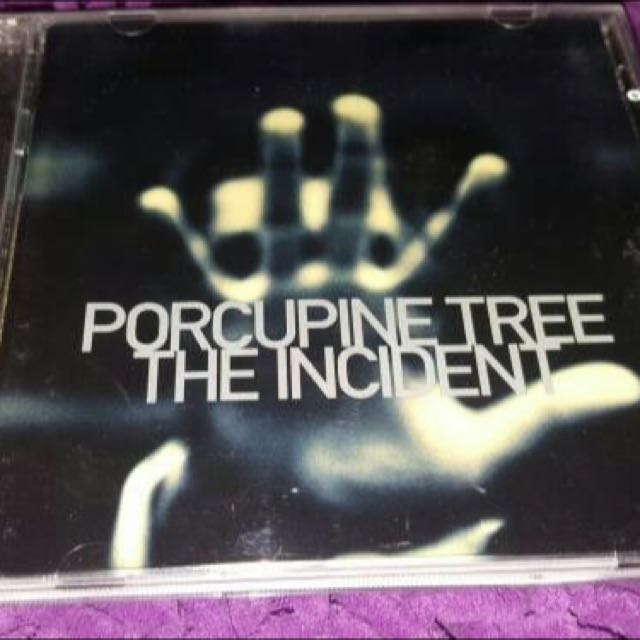 CD Original PORCUPINE TREE - The Insident