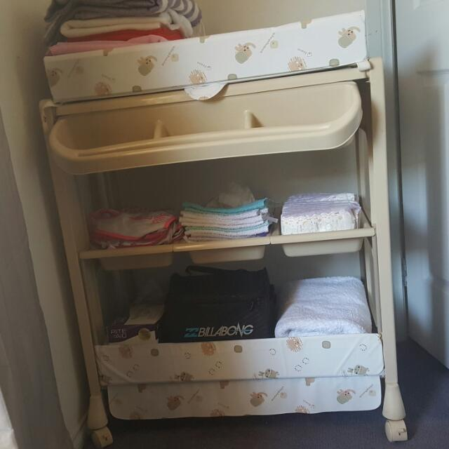 Childcare Portable Change Table/bath