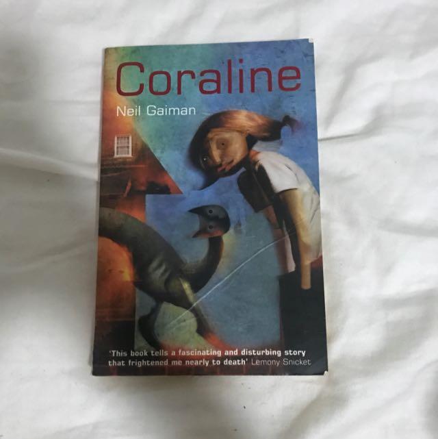 Coralline - Neil gailman