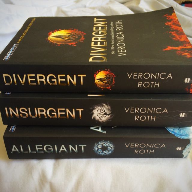 Divergent Insurgent Allegiant - Book Series By Veronica Roth