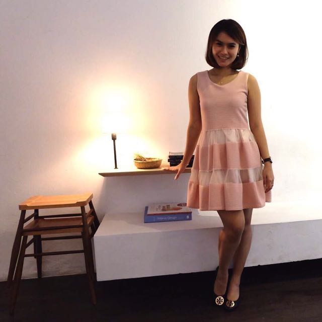 Dress Dusty Pink