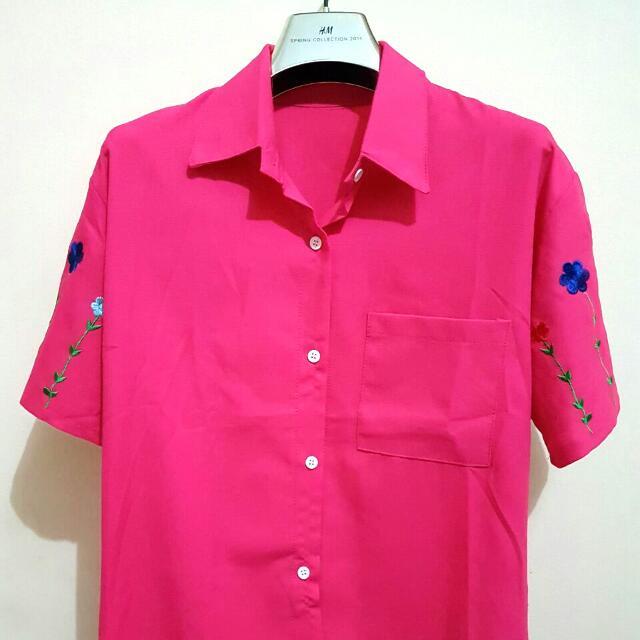 Electric Pink shirt Bangkok