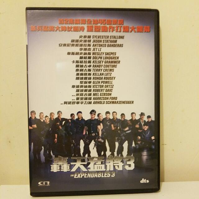 Expendables 3 Chinese/English