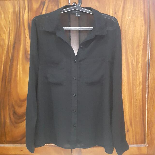 F21 Black Longsleeves