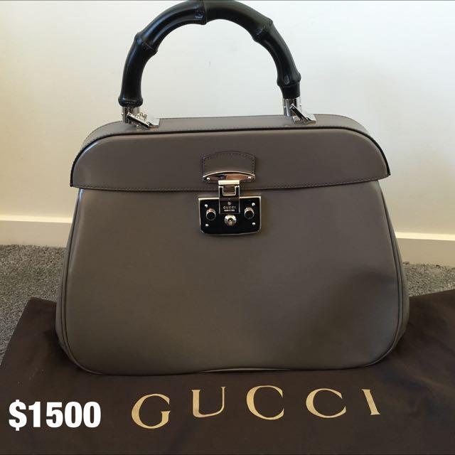 Genuine Gucci Bamboo Bag