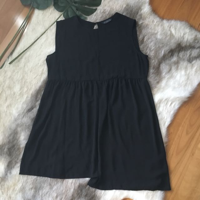 Glassons Sheer Black Dress Size L