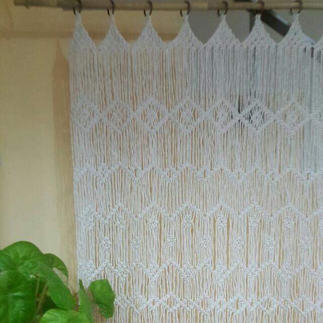 💖💖Handmade Macrame Curtain 💕💕