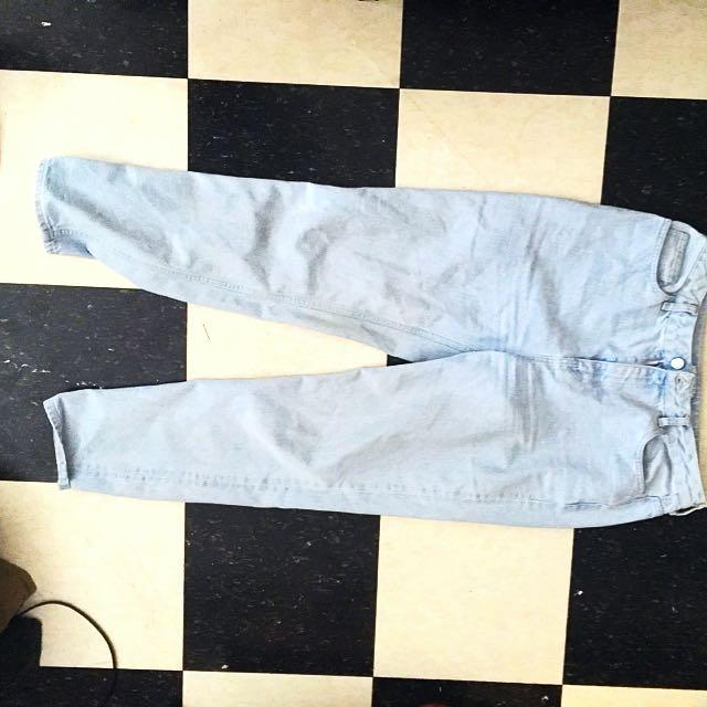 High Waisted F21 Jeans