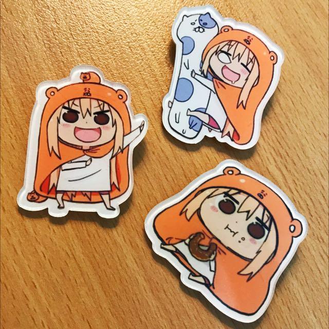 Himouto! Umaru-chan - Badge Set
