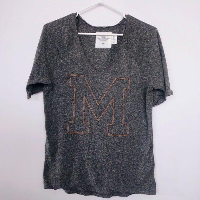 H&M Letter Shirt