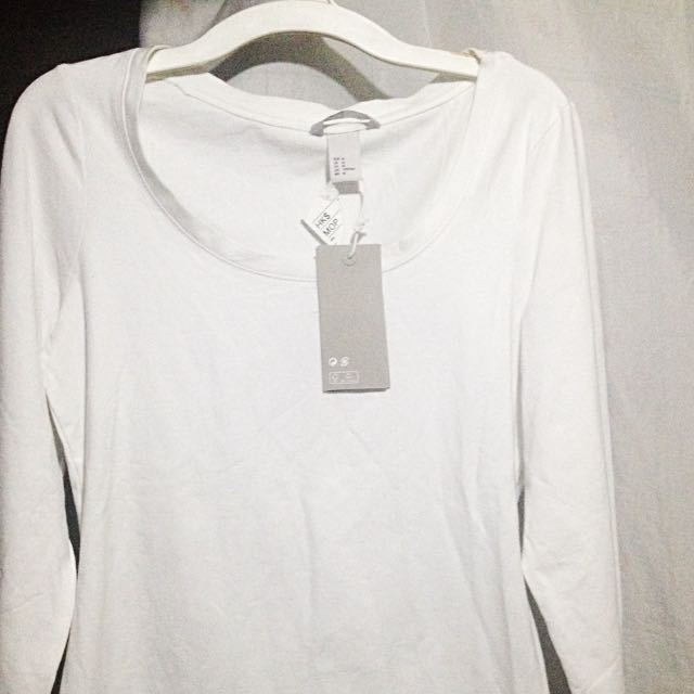 H&M White Sleeves
