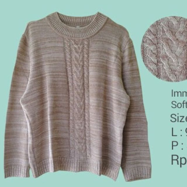 Immagina Brown Soft Jumper
