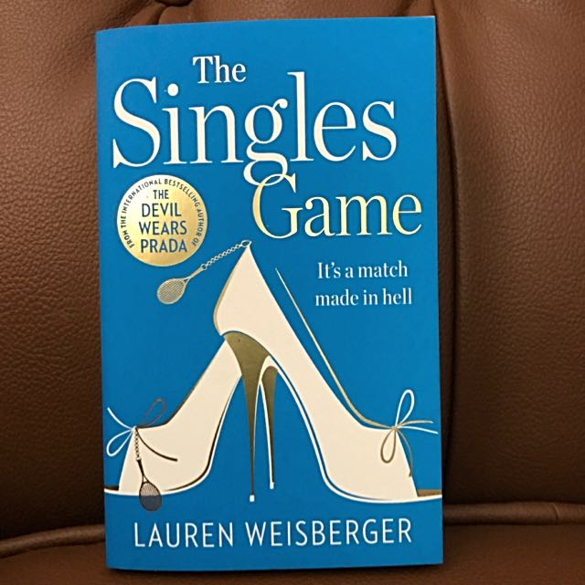 Import: The Singles Game (Lauren Weisberger)