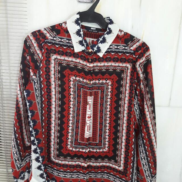 IMPORTED Ethnic Blouse