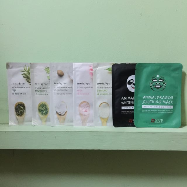 Innisfree And Animal Masks