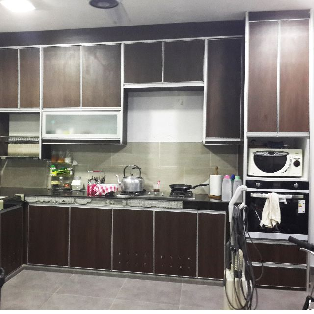 Aluminium Kitchen Cabinet Malaysia: Kabinet Dapur Hong Lee