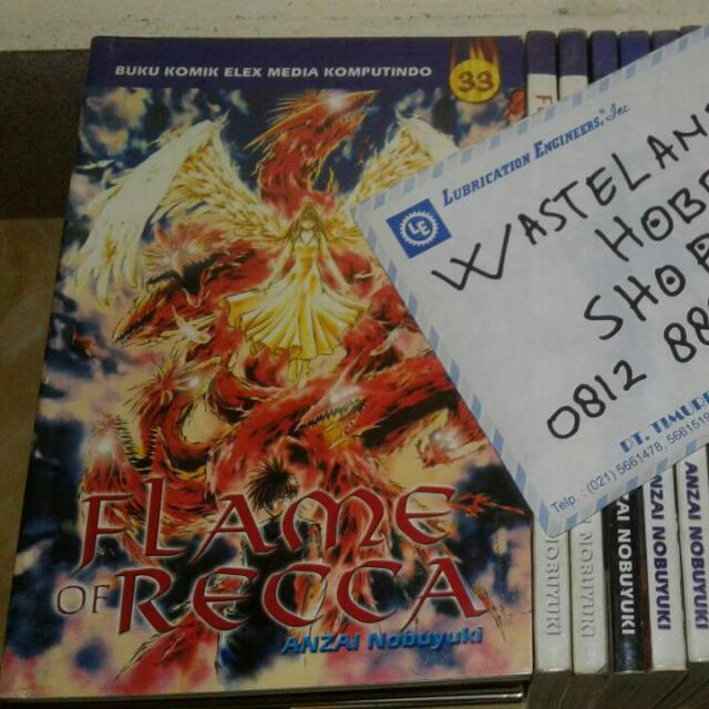 Komik Flame of Recca