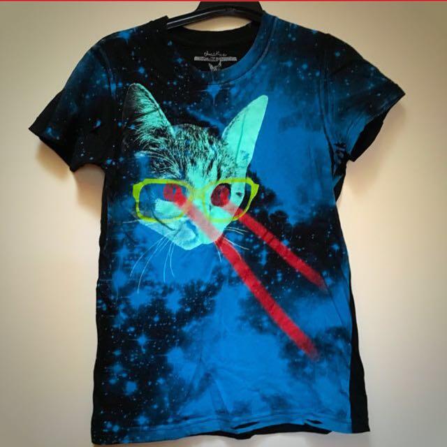 Laser Cat Tee