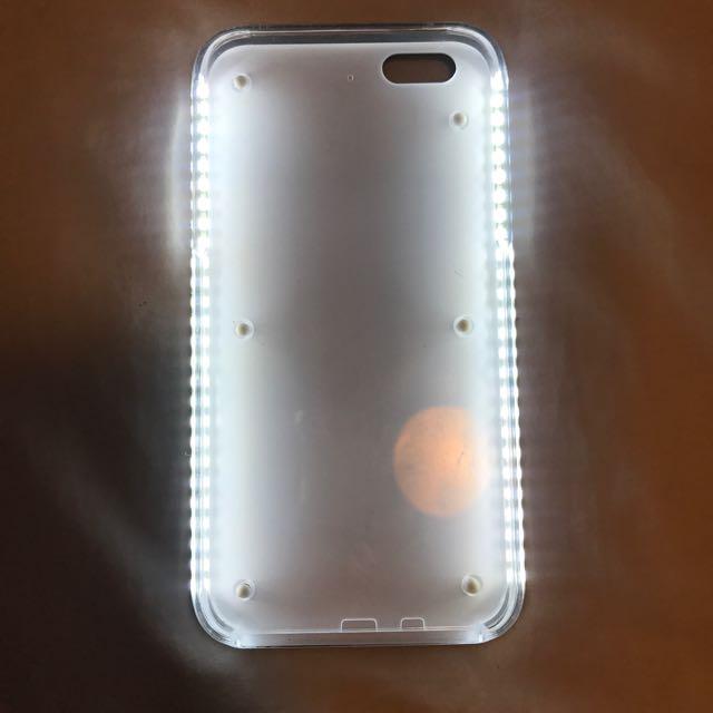 LED Selfie Light Phone Case