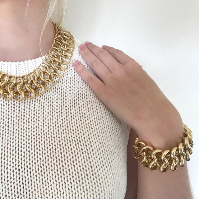 Mimco Chunky Chain Bracelet