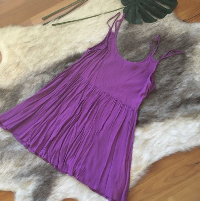 Minkpink Purple Dress Size L