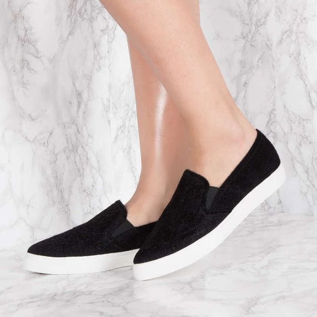 NAKD Black Slip on Shoes