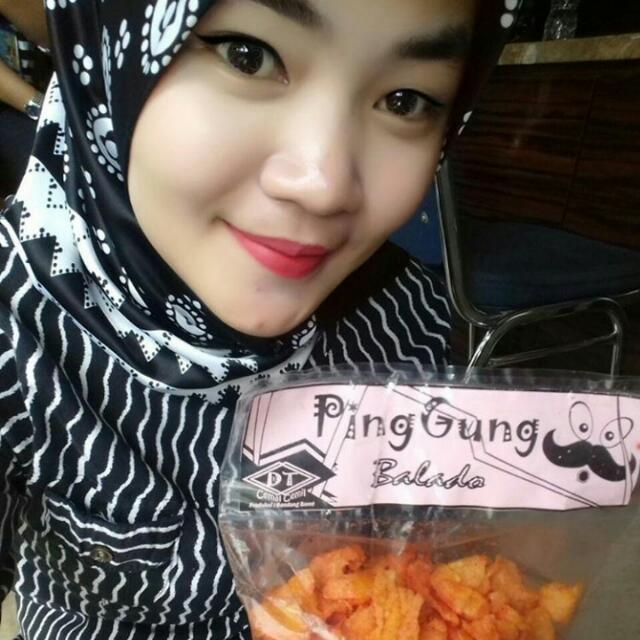 Pinggung ( Emping Jagung)