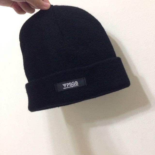 PSGB 黑色 毛帽 👒