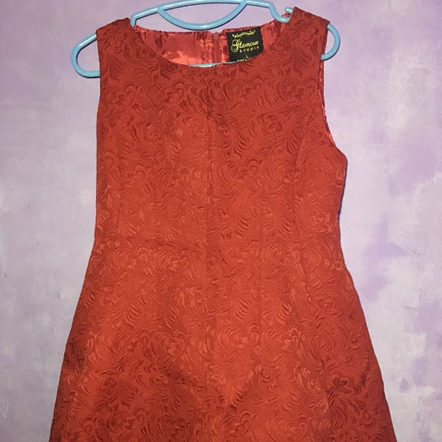 Red Cocktail Dress  and Green Peplum Dress(Formal)