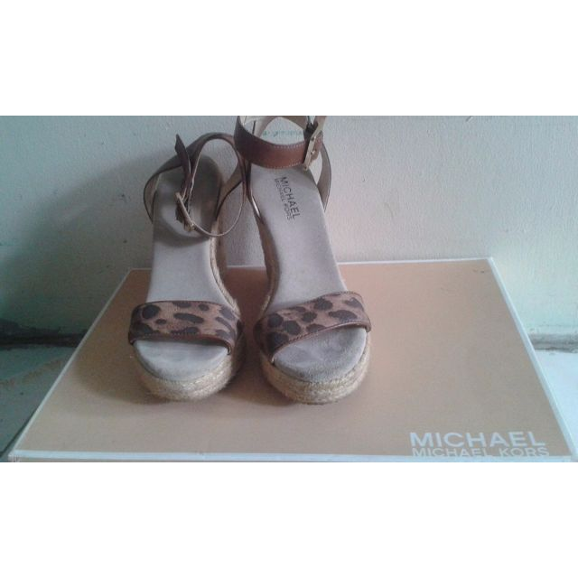Michael Kors Violet Espadrille (Printed Leather)