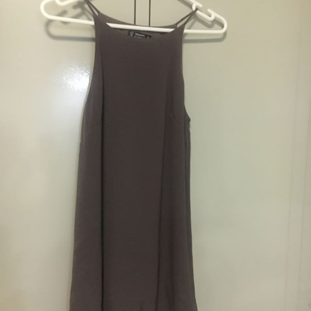 Singlet Style Shift Dress