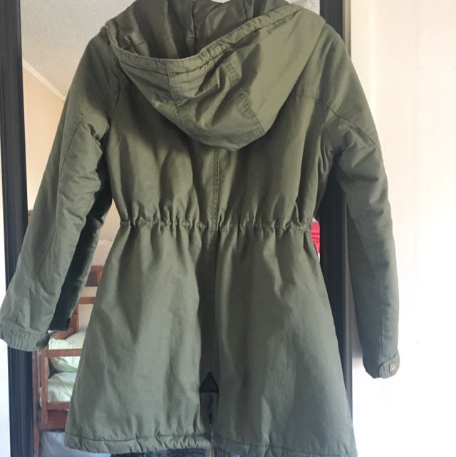 Small Size Khaki Parka In Good Condition