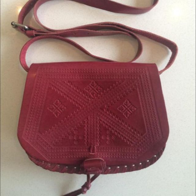 Sports girl Burgundy Bag