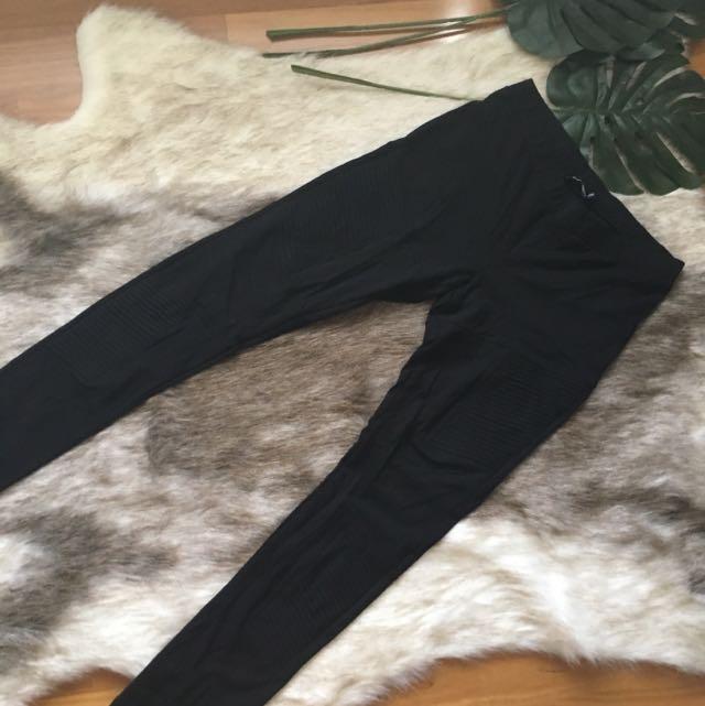 Sportsgirl Biker Ponte Pants Size L