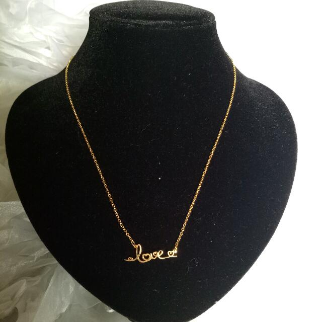 Stainless Gold Necklace
