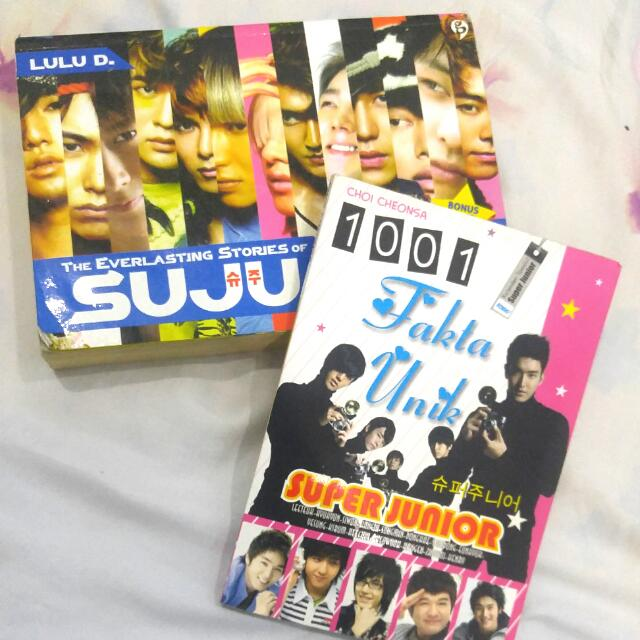 SUJU BOOKS !! (unofficial