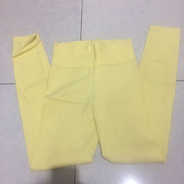 Summer Jegging Yellow