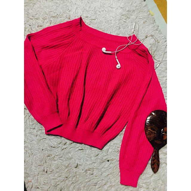 Sweater Crop Top