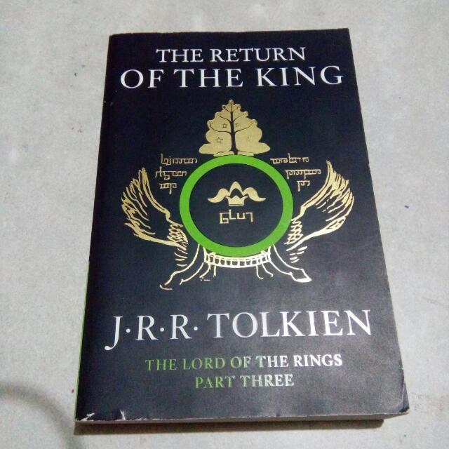 The Return Of The King By Tolkien