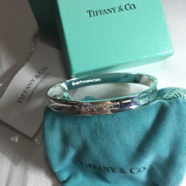 Tiffany & Co. Tiffany 1837 Sterling Silver Bangle