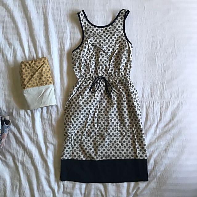TOBI Crisscross back Dress XS AU6-8