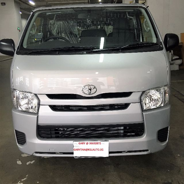 Toyota Hiace Van Turbo 5 Dr Manual New Cars Other Vehicles On