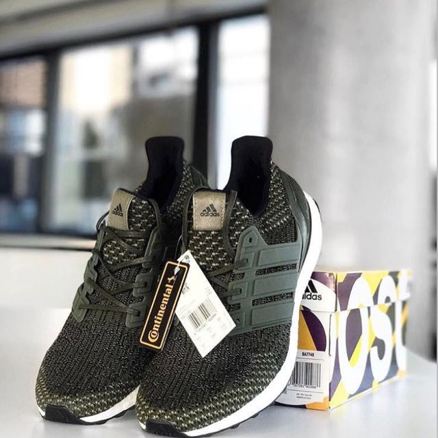 Ultra Boost 3.0 Military Green US9