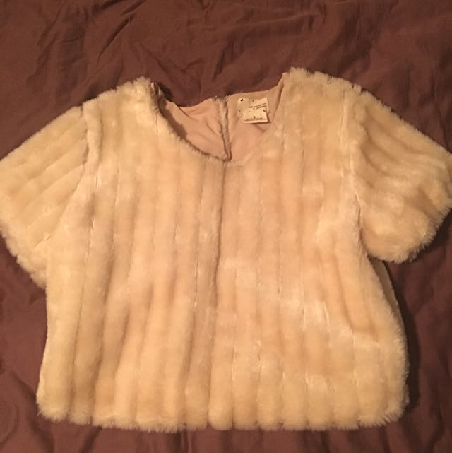 Urban Outfitters Faux Fur Shirt